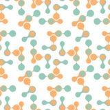 Metaball Bezszwowy wzór Zdjęcie Royalty Free