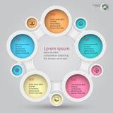 Metaball infographics 1 Stock Image