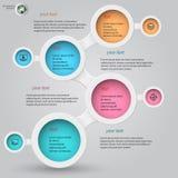 Metaball infographics 2 Royalty Free Stock Photography