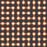 Metaballs seamless pattern Stock Photo