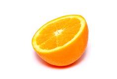 Metade da laranja foto de stock