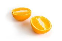 Metade da laranja Foto de Stock Royalty Free