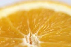 Metade de uma laranja Fotos de Stock Royalty Free
