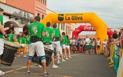 Metade-maratona de Fuerteventura Foto de Stock Royalty Free