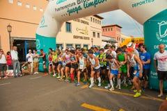 Metade-maratona de Fuerteventura Fotografia de Stock