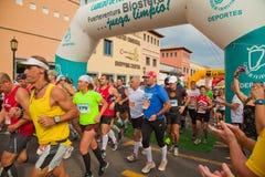 Metade-maratona de Fuerteventura Fotografia de Stock Royalty Free