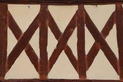 A metade típica suportou a parede em Normandy Imagens de Stock