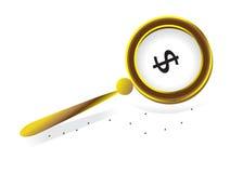 Metafoor, de concurrentie en bedrijfssucces. Stock Foto's