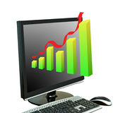 Metafoor van de groei Royalty-vrije Stock Foto