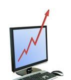 Metafoor van de groei Stock Foto's