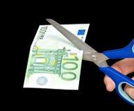 Metafoor van fondsenneerstorting Royalty-vrije Stock Fotografie