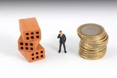 Metafora di affari di investimento Fotografia Stock