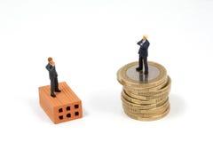 Metafora di affari di investimento Fotografia Stock Libera da Diritti