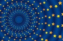 Metafora per la bandierina dell'Ue Illustrazione Vettoriale