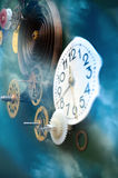 Metaforen av tid Arkivfoton