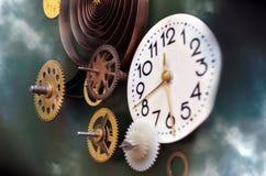 Metaforen av tid Arkivfoto