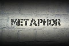Metafory słowo gr fotografia royalty free