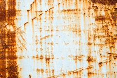 Metal ściana rdzewieje tło fotografia royalty free