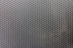 Metal ściana, metal podłogowa tekstura z diamentu wzorem Zdjęcia Stock