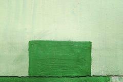 Metal ściana, zieleń, szczegół Fotografia Royalty Free