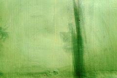 Metal ściana, zieleń, szczegół Obrazy Stock