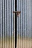 Metal двери амбара Стоковая Фотография RF