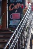 Metal лестницы Стоковое фото RF