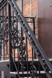 Metal лестницы Стоковая Фотография
