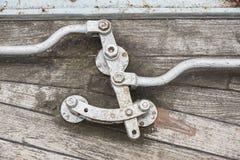 Metal закрепление тандеров кабелей с стальной штангой Стоковое Изображение RF