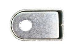 Metal земля или замок пола для двери штарки ролика стоковые фотографии rf