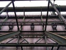 Metal конструкция стоковое изображение rf