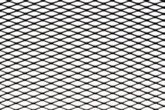 Metal плакировка сетки изолированная против белой предпосылки Стоковое Фото