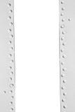Metal рамка с заклепками и космосом для текста Стоковая Фотография