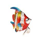 Metal рыбы с кристаллами Стоковое Изображение
