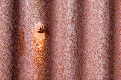 metal старое ржавое олово сарая Стоковое фото RF