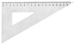 Metal установленный квадрат (треугольник) изолированный на белизне Стоковое Изображение RF