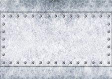 Metal шаблон для дизайна, железной текстуры как предпосылка, 3d Стоковые Изображения
