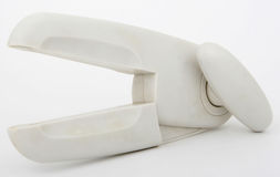 лезвия вниз metal внешняя сторона олова консервооткрывателя пластичная Стоковые Фото