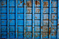 Metal. Old metal construction container background Stock Photography