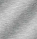 Metal. Light Plays Across a Shiny Metal Surface Stock Image