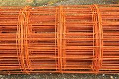 Metal. Reinforcement metal framework for concrete pouring stock photos