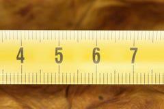 metal желтый цвет метра Стоковые Изображения