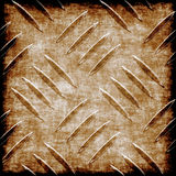 Metal. Illustration of rusty metal background Stock Photography