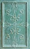 двери metal старая Стоковая Фотография RF