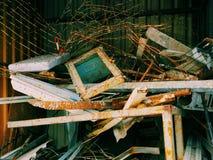 Metal Abfall Lizenzfreie Stockfotos