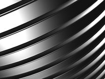 Metal abstract background. 3d render stock illustration