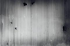Metal acanalado Foto de archivo libre de regalías