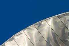 Metal again sky Stock Images