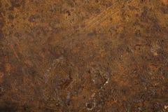 Metal aherrumbrado útil como fondos o texturas Foto de archivo