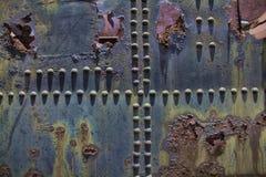Metal aherrumbrado Fotos de archivo
